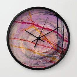 Misty Cave Wall Clock