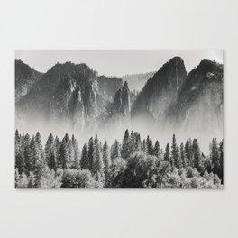 Yosemite Valley X Canvas Print