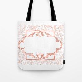 Art deco bohemian chic Tote Bag