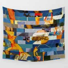 Shiver Me Ikea Timbers (Provenance Series) Wall Tapestry