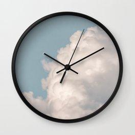 soul · clouds Wall Clock