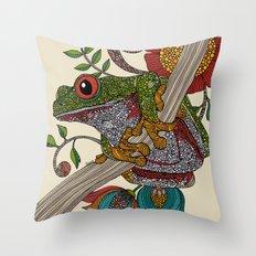 Phileus Frog Throw Pillow