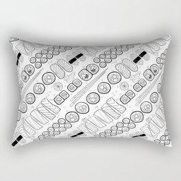Sushi Coloring Rectangular Pillow