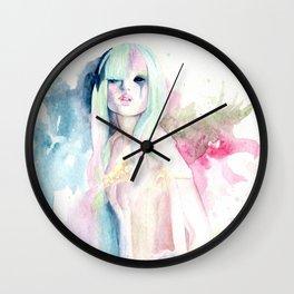 Paranoia princess Wall Clock