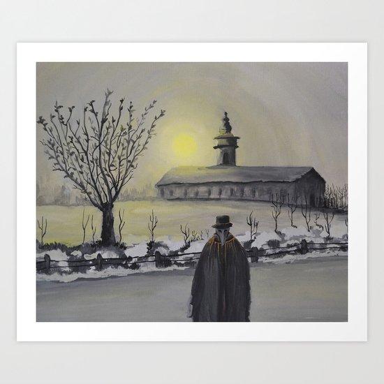 Track 6: Dark winter Art Print