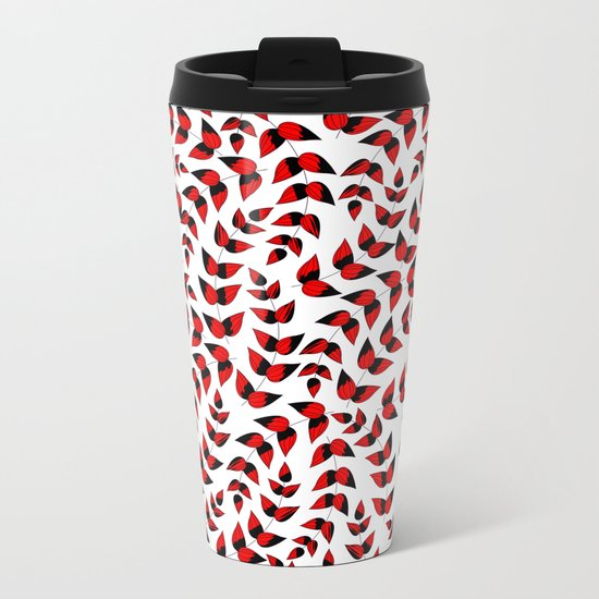 Leaf..2 Metal Travel Mug