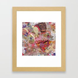 Dancing Girl Framed Art Print