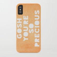 Gosh (Precious) iPhone X Slim Case