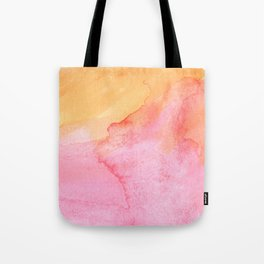 Hand painted watercolor patterns Tote Bag