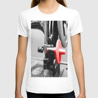 sewing T-shirts featuring Sewing Machine by Four Hands Art