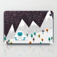 yeti iPad Cases featuring Yeti by Kakel