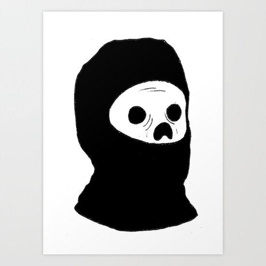 Stealth Zombie  Art Print