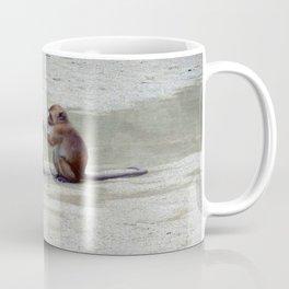 Monkey, You've got food all round your chops. Coffee Mug