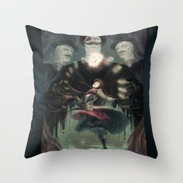 THE RIFLE'S SPIRAL Throw Pillow