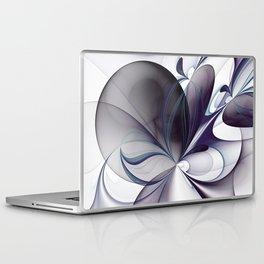 Easiness, Abstract Modern Fractal Art Laptop & iPad Skin