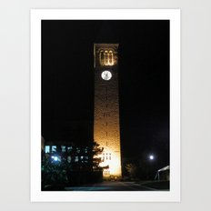 Cornell Clocktower Art Print