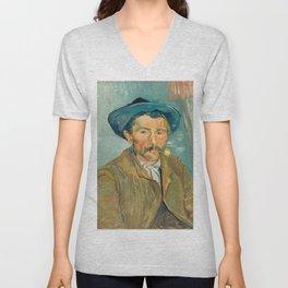 Van Gogh - The Smoker Unisex V-Neck