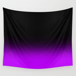Fade To Purple Wall Tapestry