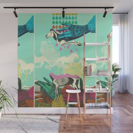 GHOST HORSE Wall Mural
