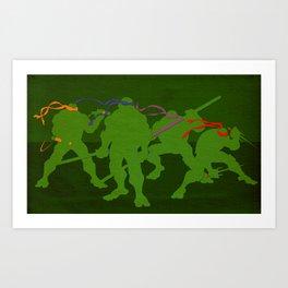 Halfshell Heros Art Print