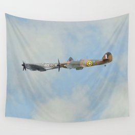 Spitfire and Hurricane Wall Tapestry
