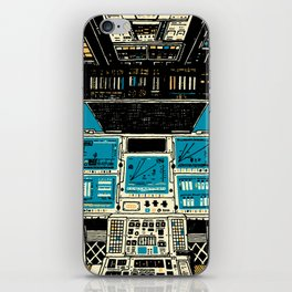 To Outer Space! iPhone Skin