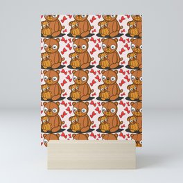 Mom's Bear Love Mini Art Print