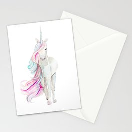 Watercolor Unicorn Stationery Cards
