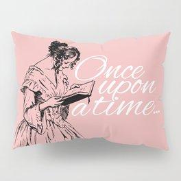 Reading Too Many Novels (Blush) Pillow Sham