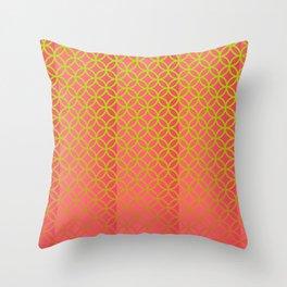 Elegant spring pattern Throw Pillow