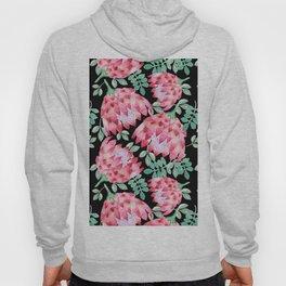 Watercolor Protea Hoody