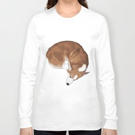 Corgi Curl Long Sleeve T-shirt