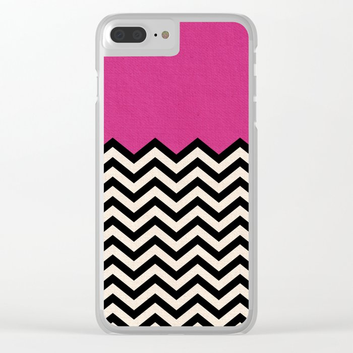 Follow Your Heart Clear iPhone Case