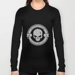 Military Divided We Fall Tactical Skull Men's Long Sleeve Shirt Army Usmc Police t-shirts Long Sleeve T-shirt