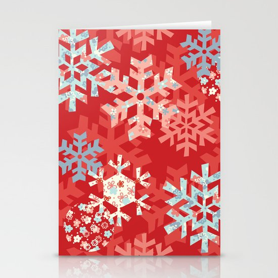 Snowflake Dream Stationery Cards