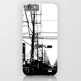 Japan Street iPhone Case
