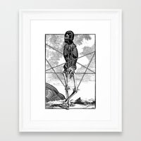 pagan Framed Art Prints featuring Pagan practioners by DIVIDUS