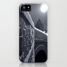 Crossing the Mystic River iPhone Case