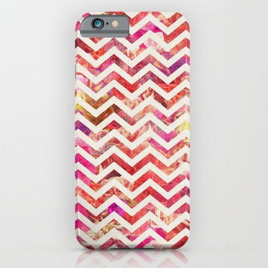 FLORAL CHEVRON iPhone & iPod Case