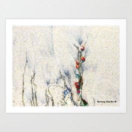 Seaside Arrangement Art Print