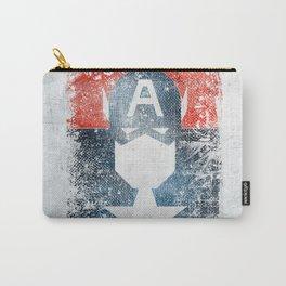 Yankee Captain grunge superhero Carry-All Pouch