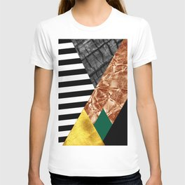 fall abstract triangle T-shirt