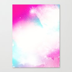 Space Remix Canvas Print
