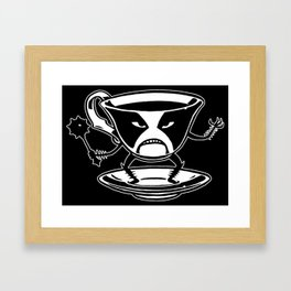 Black tea Framed Art Print