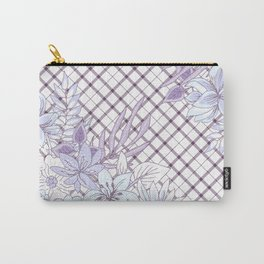 Spring Flowers (Lavender Love) Carry-All Pouch