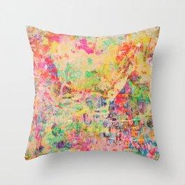 City Heart Throw Pillow
