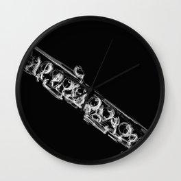Black Flute II Wall Clock