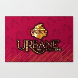 urbane pillow Canvas Print