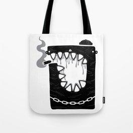 Zombie Hoodlum Tote Bag