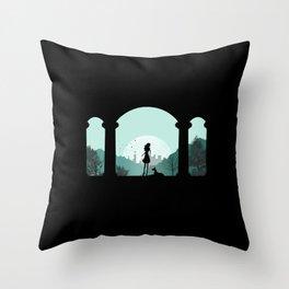 Time Travelers Spirit Throw Pillow